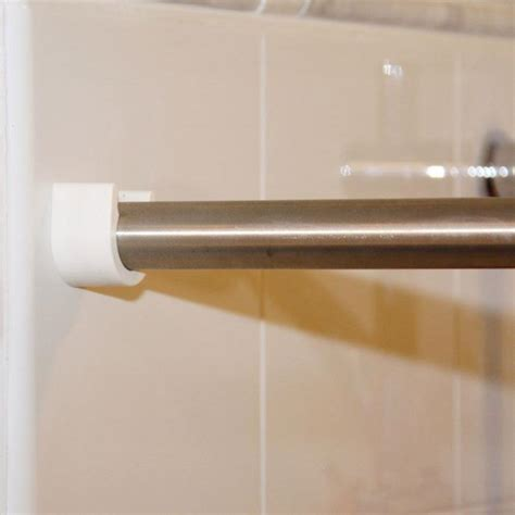 Stainless Steel Curtain Rod With Ucup Holders