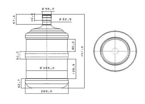 gallon water bottle pet blowing machine semi automatic  hole cavity bottles making