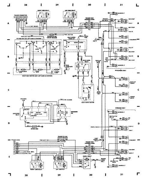 90 jeep fuel wiring diagram get free image