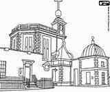 Greenwich Observatorio Coloring Colorear Dibujos Europe Observatory Royal Monuments Pintar Europa Colorir Kolorowanki Mundo Koninklijk Observatorium Krolewskie Obserwatorium Sights Monumentos sketch template