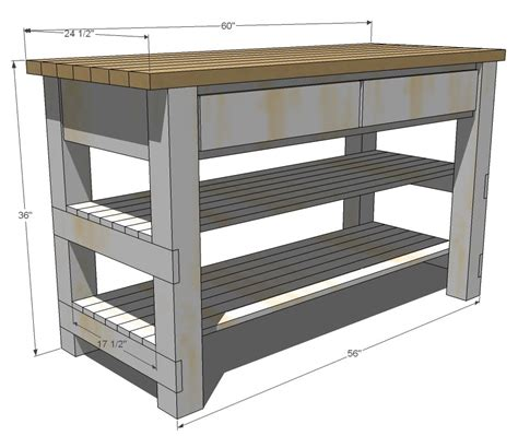 plans to build a kitchen island white build michaela 39 s kitchen island diy projects