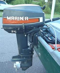 25 Hp Mercury Mariner Outboard Boat Motor For Sale