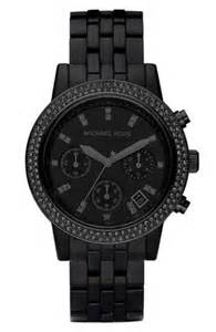Michael Kors Black MK Watch