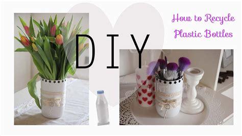 vasi con bottiglie plastica riutilizzare le bottiglie di plastica per creare dei vasi