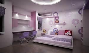 Purple Dream Bedrooms for Teenage Girls Rooms