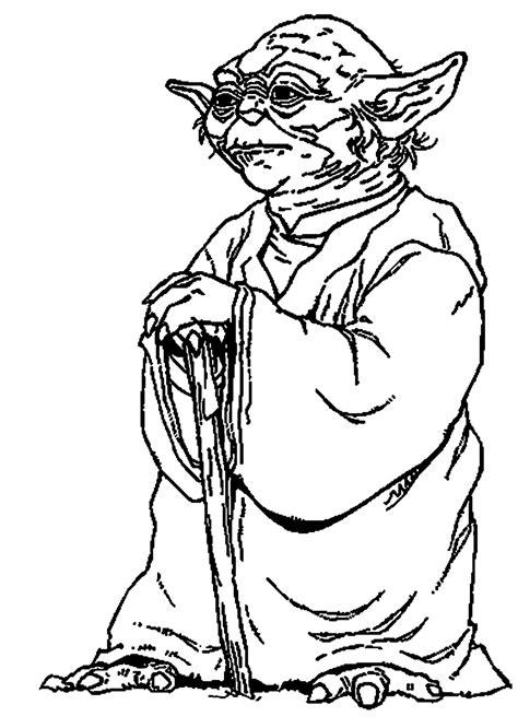 yoda coloring pages kidsuki