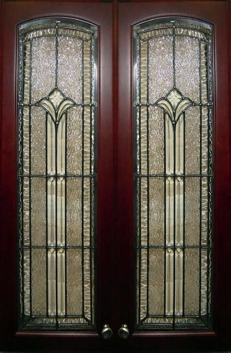 beveled kitchen cabinet doors 79 best images about leaded glass on large 4616
