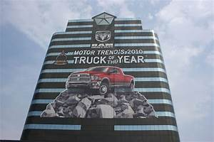 "Chrysler Wraps Headquarters to Celebrate ""Truck of the ..."