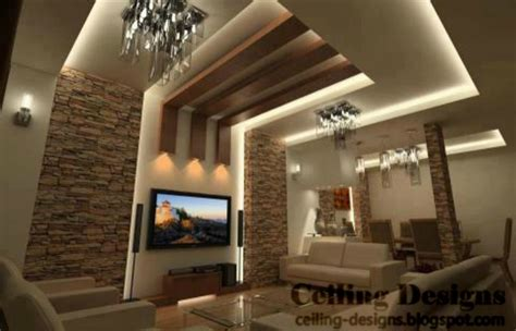 living room ceiling design ideas  house plans