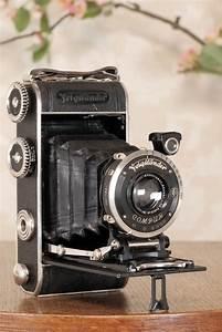 1934 Voigtlander Inos Ii 6x9 Folder  Cla U2019d  Freshly
