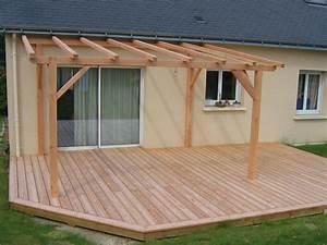 Construire Une Pergola En Bois : construire une pergola en bois plan fabulous dossier de ~ Premium-room.com Idées de Décoration