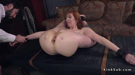 Big Ass Redhead Milf Anal Bondage Fucked