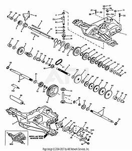 Poulan Pp11536a Tractor Parts Diagram For Transaxle