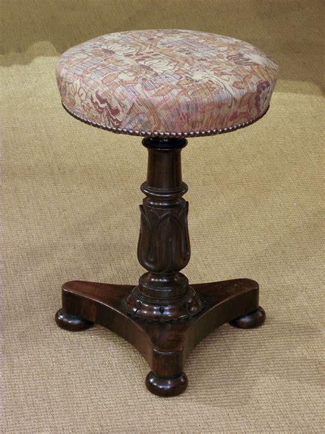 antique piano stool william iv   century