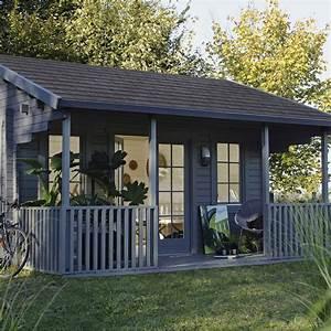 abri de jardin en bois samara 175m2 ep 44mm leroy With materiaux exterieur de maison 10 maison en bois les cabanes dolivier cabane en bois