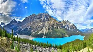 Peyto, Lake, Lake, In, Banff, National, Park, In, Alberta, Canada, Landscape, Photography, 3840x2160