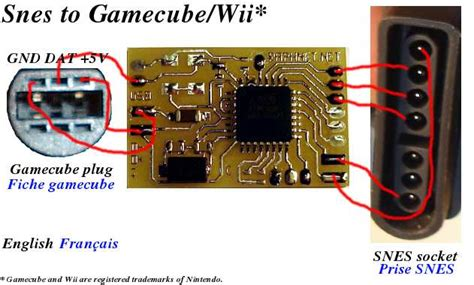 Snes Nes Controller Gamecube Wii Conversion Project