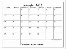 Calendario maggio 2019, 77LD Michel Zbinden