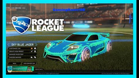 Rocket League Car Customizer Simulator