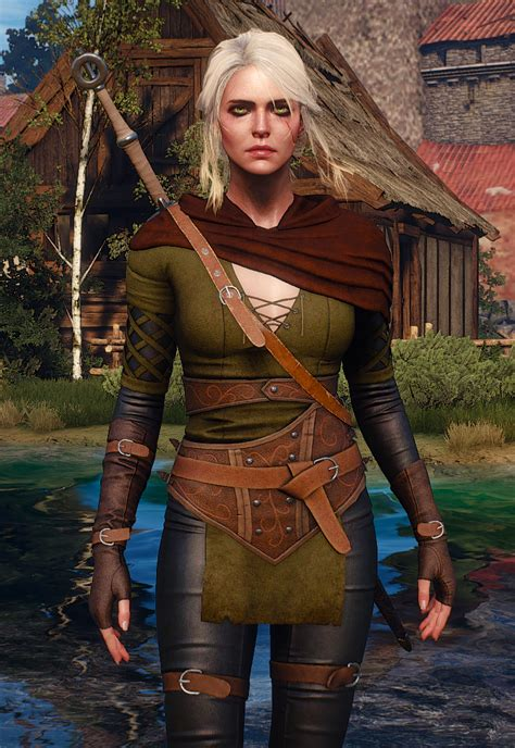 ciri alternative at the witcher 3 nexus mods and community