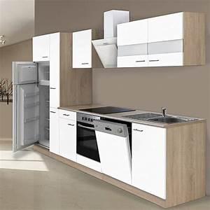 Bauhaus Arbeitsplatte Küche : respekta k chenzeile kb310eswcgke breite 310 cm wei bauhaus ~ Sanjose-hotels-ca.com Haus und Dekorationen