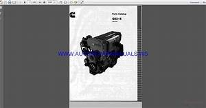 Cummins Qsx15 Industrial Parts Catalog