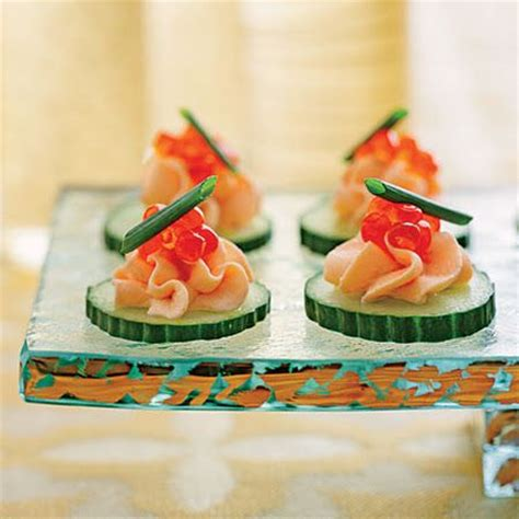canape appetizer smoked salmon mousse canapés appetizers