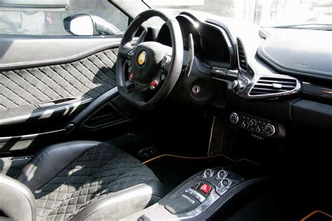 Ferrari 458 Italia Black Interior