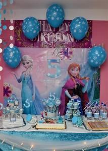 Deko Für Kindergeburtstag : frozen balloons frozen candybar eisk niginnen dekoration f r kindergeburtstag frozen ~ Frokenaadalensverden.com Haus und Dekorationen