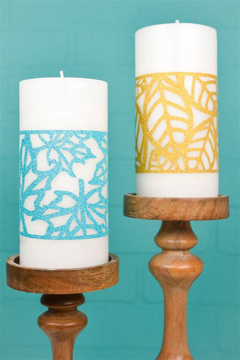 Candle Corn Wrap by Fall Decorating Idea Pumpkin Luminaria Svg Cut File