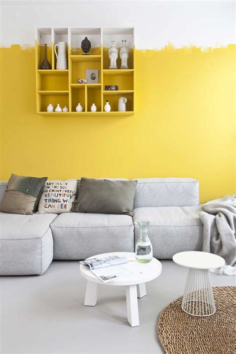 best 25 yellow wall paints ideas on living