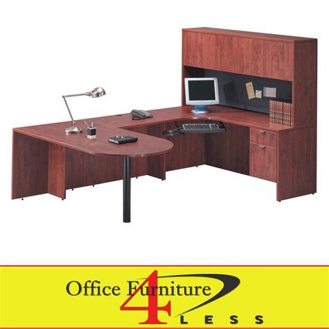 c bullet u desk 71x36 bullet u shape desk with hutch