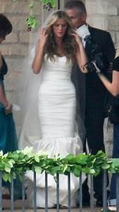 Wedding Dress Designer Austin Brooklyn Decker Stars Who Wore Vera Wang Wedding Gowns