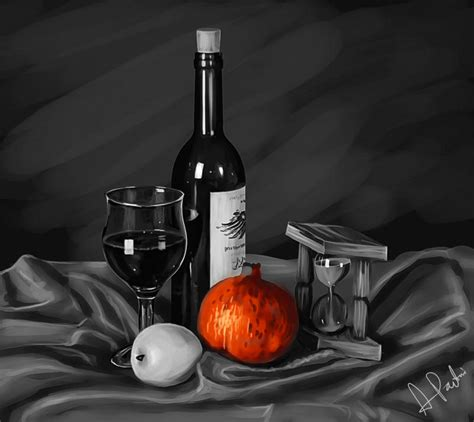 Still White Still Life Black And White Photography With Color Black