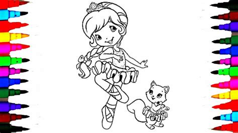 coloring book pages strawberry shortcake berry