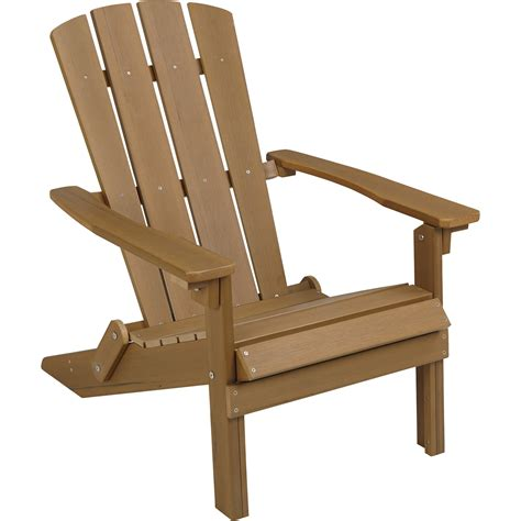 garden table and chairs stonegate designs folding resin adirondack chair brown