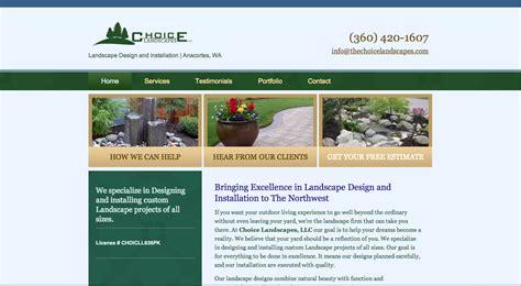 best landscape design websites best landscaping company websites landscape ideas