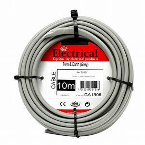Best Electrical Twin  U0026 Earth Grey Wiring Cable