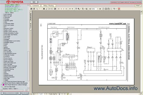 toyota hilux 1997 2005 service manual repair manual order