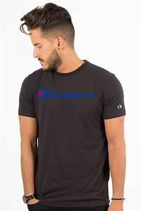 T Shirt Champion Homme : t shirt noir champion ~ Carolinahurricanesstore.com Idées de Décoration