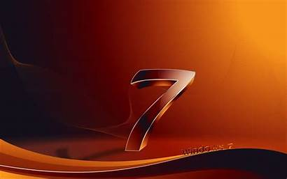 Number Wallpapers Seven 3d Background Windows