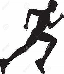 Silhouette Woman Running Clipart (62+)