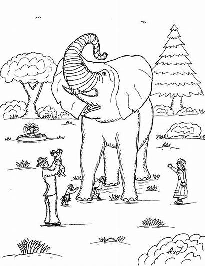 Showman Greatest Coloring Pages Circus Jumbo Robin