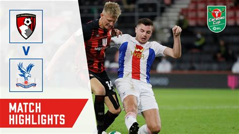 HIGHLIGHTS | AFC BOURNEMOUTH 0-0 CRYSTAL PALACE ...