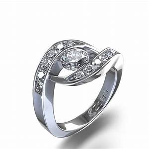 cleopatra channel set diamond ring in 14k white gold With channel set diamond wedding ring
