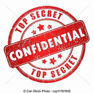 Confidential Clipart