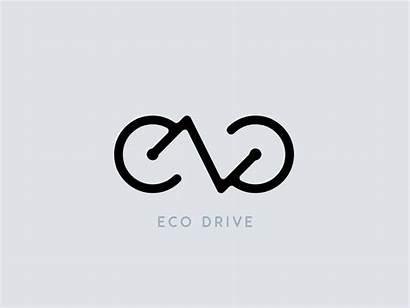 Eco Drive Branding Bike Dribbble Ecodrive Electric