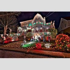 Dyker Heights In New York Wo Weihnachten Zu Hause Ist