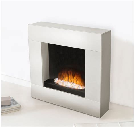 Adam Alton White Electric Fireplace Suite   Lowest Prices