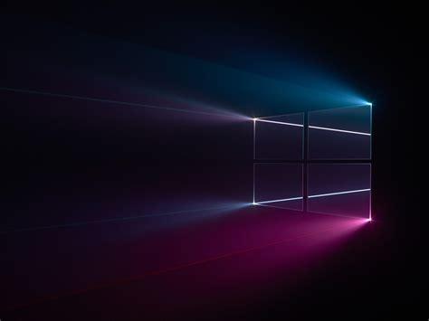 logotipo de windows  azul rosa oscuro  fondo de